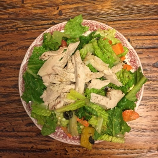 Turkey Garden Salad